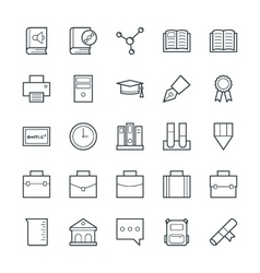 Education Cool Icons 3 vector