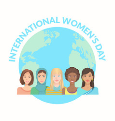 International women s day vector