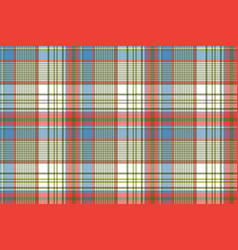 plaid fabric texture square pixels shirt seamless vector image
