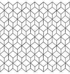 Rhombille seamlessly tiling vector