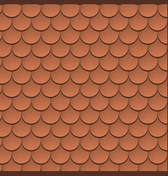 roof tile texture pattern rooftop vector image