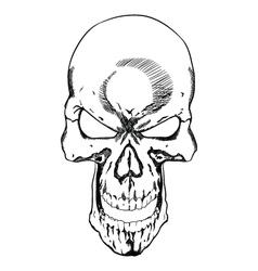 Skull 0026 vector image