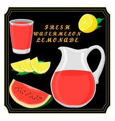 The set lemonade vector