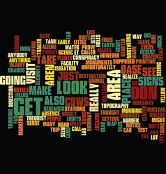 Area text background word cloud concept vector