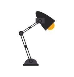 office desk lamp light icon vector image vector image