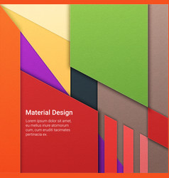 material design background vector image vector image