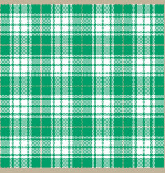 Cyan tartan plaid seamless pattern vector