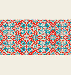 Damask seamless pattern background elegant vector