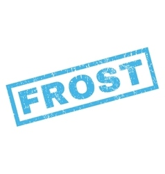 Frost Rubber Stamp vector