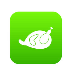 gammon icon digital green vector image