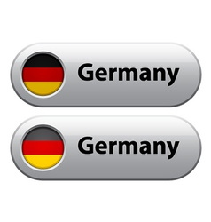 germany flag buttons vector image