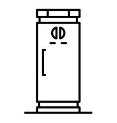 kitchen freezer icon outline style vector image