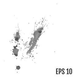 paint splat setpaint splashes set for design vector image
