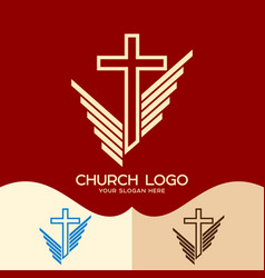 The cross of jesus vector