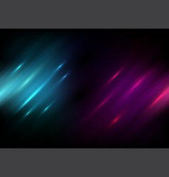 Abstract black background with Blue and purple vector image