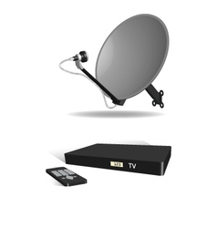 Cable TV vector image