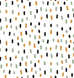 Abstract seamless dashed pattern vector image