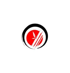 bamboo icon logo vector image