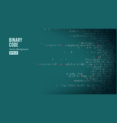 binary code background algorithm binary vector image