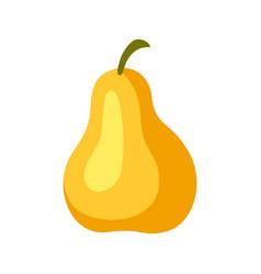 cartoon ripe pear vector image
