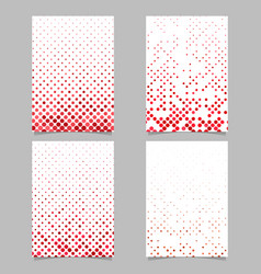 geometrical dot pattern page template background vector image