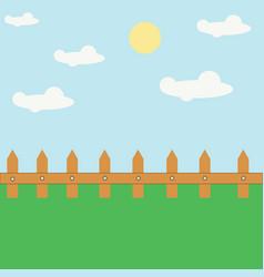 green garden background vector image