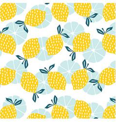 lemon blast vector image
