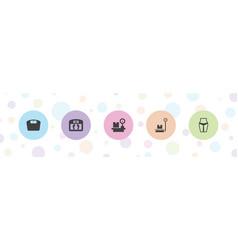 Loss icons vector