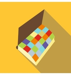 Notebook icon flat style vector image