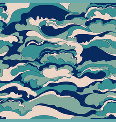 pattern with the image of the cream texture of vector image vector image
