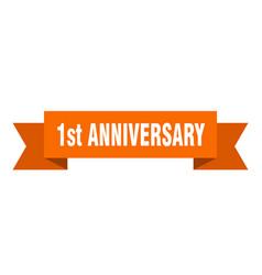 1st anniversary vector
