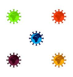 Earth coronavirus vector