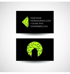 Elite business card vector images 72 eco house logo and business card design vector colourmoves