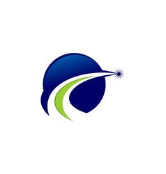 Global solution logo vector