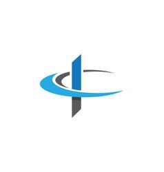 K letter faster logo template icon design vector