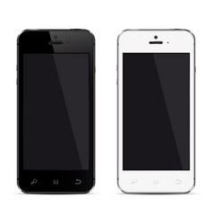 mobile phone isolated realistic vector image