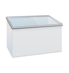 Refrigerator for shops vector