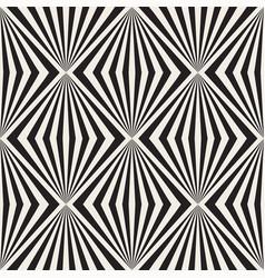 seamless geometric stylish illusion pattern vector image