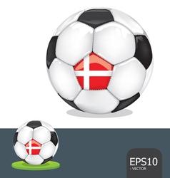 soccer euro ball vector image vector image
