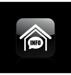 box info icon vector image