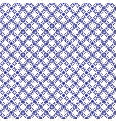 abstract geometric circle seamless pattern vector image