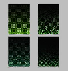 abstract seamless circle pattern brochure vector image