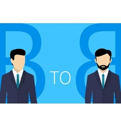B2B concept vector image