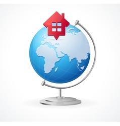 Concept Globe vector