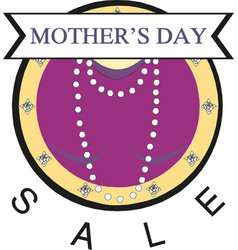 mother day sale banner vector image
