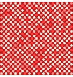 Red Squared Background vector image