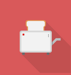 sandwich toaster icon set of great flat icons vector image