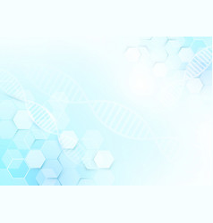 abstract medicine and science concept background vector image