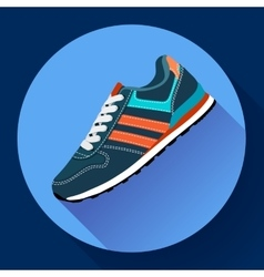 fitness sneakers shoes for training running shoe vector image vector image
