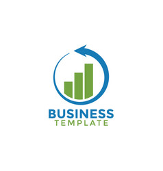 business template logo icon element design vector image